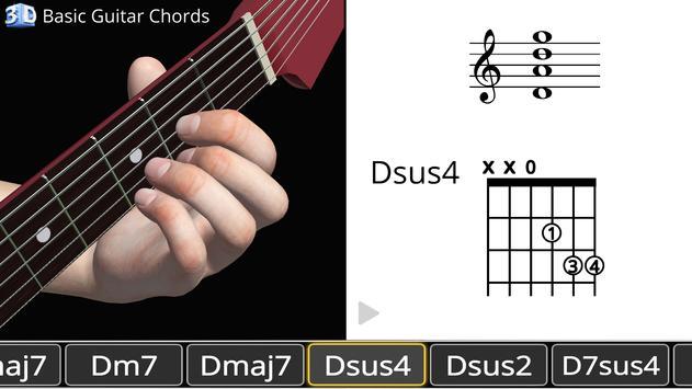 Guitar 3d Basic Chords Apk Download Free Education App For