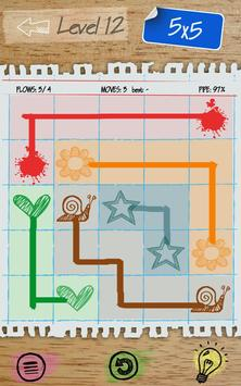 Draw-Flow: lovely puzzle game apk screenshot