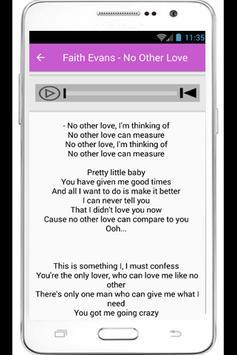Faith Evans Lyrics True Love poster