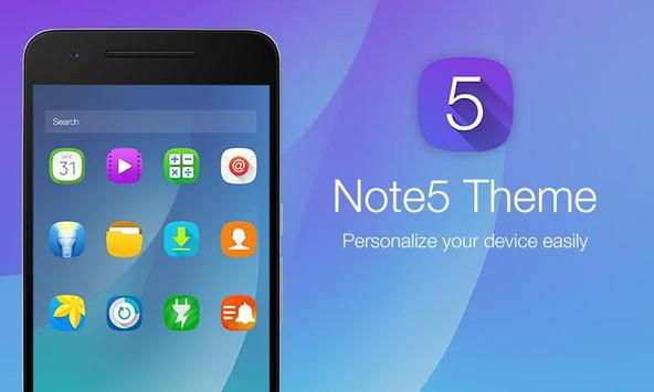 GL Note 5 Theme for Launcher apk screenshot