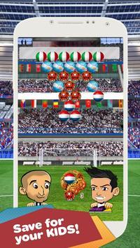 Soccer Bubble Shooter apk screenshot