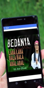 Ceramah Evie Effendi Terbaru apk screenshot