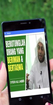 Kumpulan Ceramah Syekh Ali Jaber screenshot 2