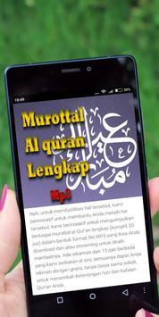Murottal Al Quran Mp3 Lengkap screenshot 1
