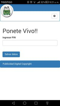 Ponete Vivo poster
