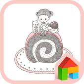 anna bella cake dodol theme icon