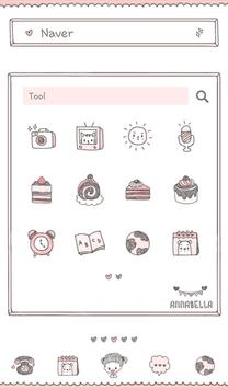anna bella cake dodol theme screenshot 1