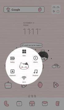 be happy 도돌런처 테마 apk screenshot