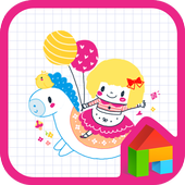 bibi and pony dodol theme icon
