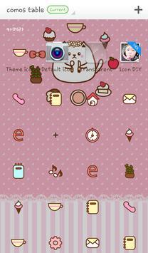 Como's table dodol theme screenshot 3