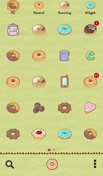 Donut love dodol theme apk screenshot