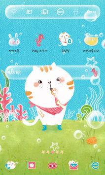 Bubble Coco dodol theme poster