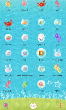 Bubble Coco dodol theme apk screenshot