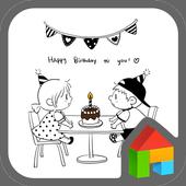 Happy birthday for Emily&Jason icon
