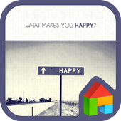 find happiness dodol theme icon