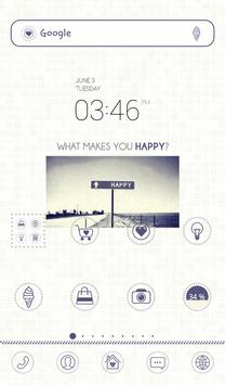 find happiness dodol theme poster