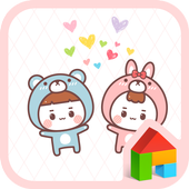 kids couples dodol theme icon