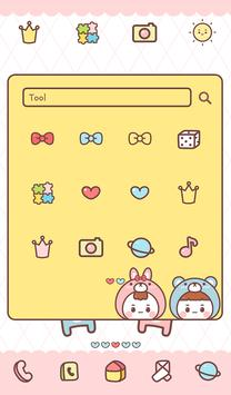 kids couples dodol theme screenshot 2
