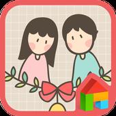 happinesssss dodol theme icon