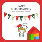 Happy christmas party Dodol icon