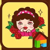 Aunt Okbun dodol theme icon