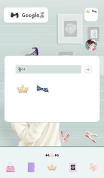 lovely girl dodol theme apk screenshot
