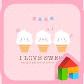 love sweet 도돌런처 테마 icon