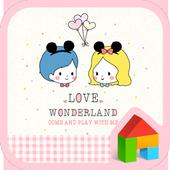 love wonder land dodol theme icon