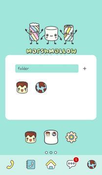marshmallow friend dodol theme screenshot 1