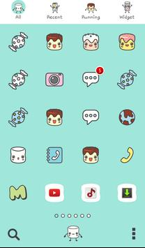 marshmallow friend dodol theme screenshot 2