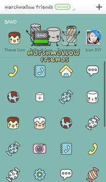 marshmallow friend dodol theme screenshot 3