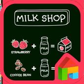 milk shop icon