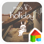 miss holiday dodol theme icon