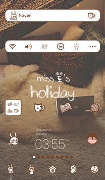 miss holiday dodol theme poster
