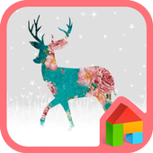 my deer my winter 도돌런처 테마 icon