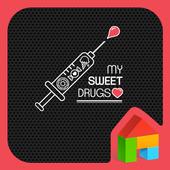 my sweet drugs dodol theme icon