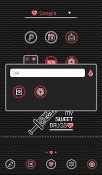my sweet drugs dodol theme screenshot 1