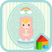 naughty angel(milk)dodol theme icon