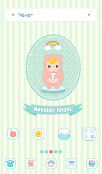 naughty angel(milk)dodol theme poster