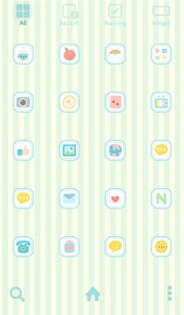 naughty angel(milk)dodol theme apk screenshot