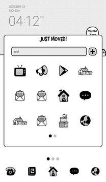 우리송이(이사하는날) 도돌런처 테마 screenshot 1