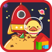 space pingping dodol theme icon