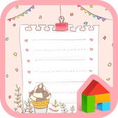 sweet every day dodol theme icon