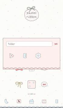 pastel ribon dodol theme screenshot 1