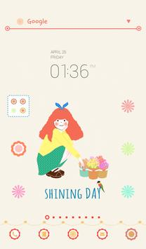 dali (Shining Day) dodol theme poster