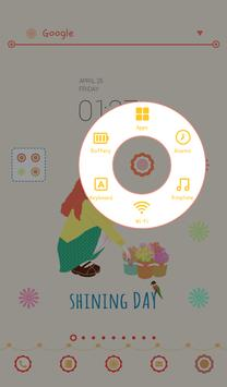 dali (Shining Day) dodol theme apk screenshot