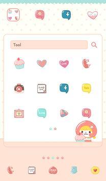 피치피치(아장아장) 도돌런처 테마 screenshot 1