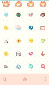 피치피치(아장아장) 도돌런처 테마 screenshot 2