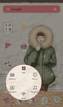 피피노트(겨울야상) 도돌런처 테마 screenshot 3