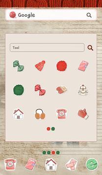 피피노트(세미캐쥬얼) 도돌런처 테마 screenshot 1